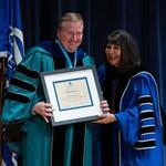 Faculty honored for scholarship, teaching excellence at annual awards convocation